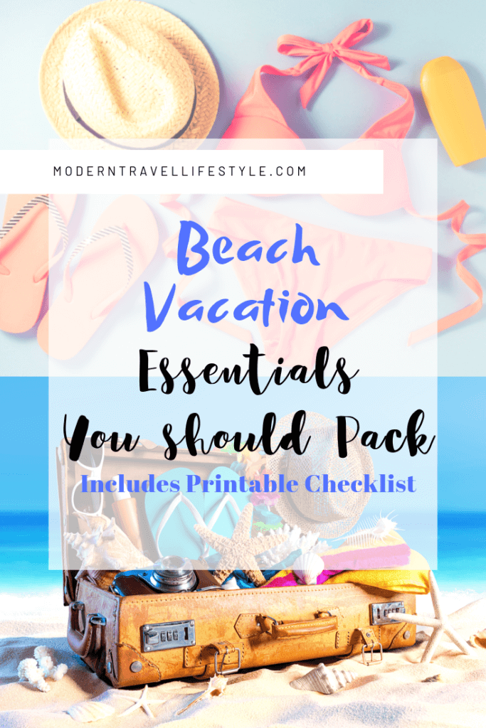 Beach Vacation Packing List Essentials   Cover
