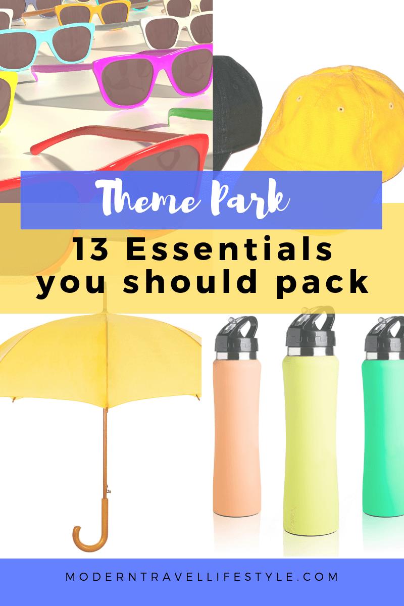 13 theme park essentials you should pack