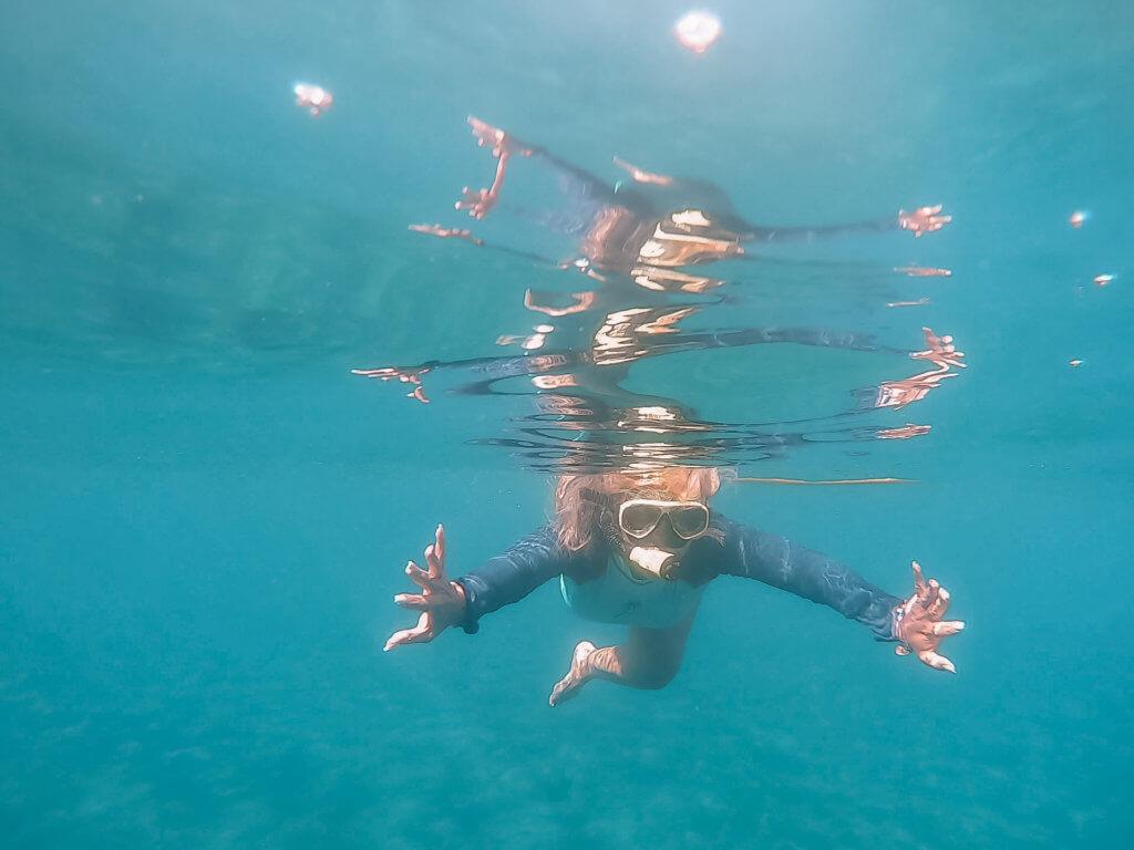 Santorini Catamaran Tour | Cruising with Sunset Oia |Snorkeling at red beach