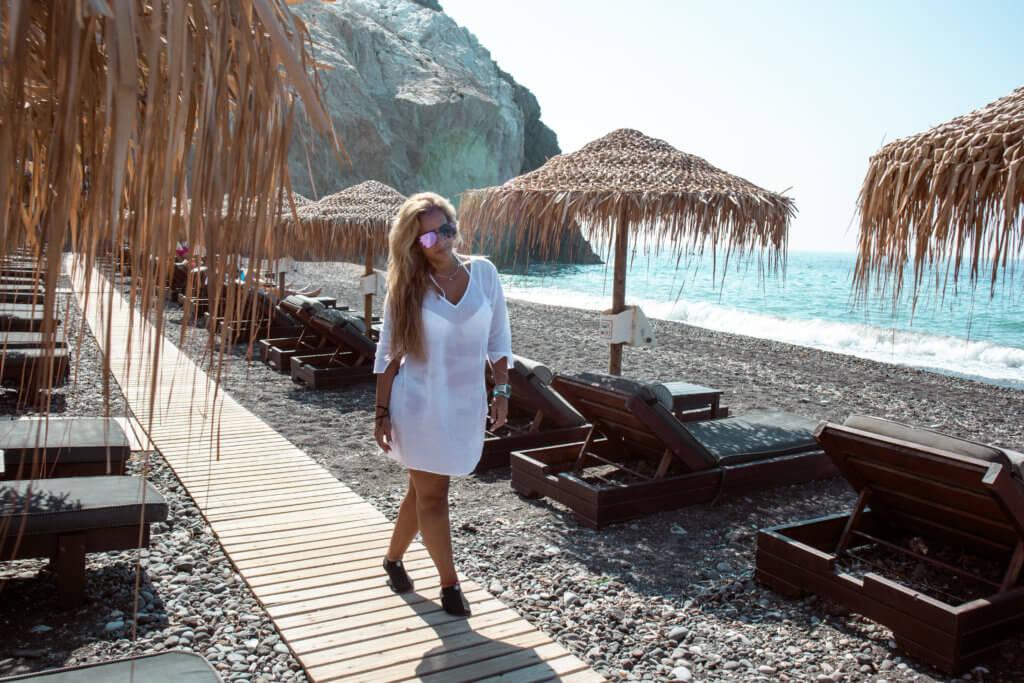 Santorini Top Amazing Experiences you shouldn't miss | Akros Beach Bar