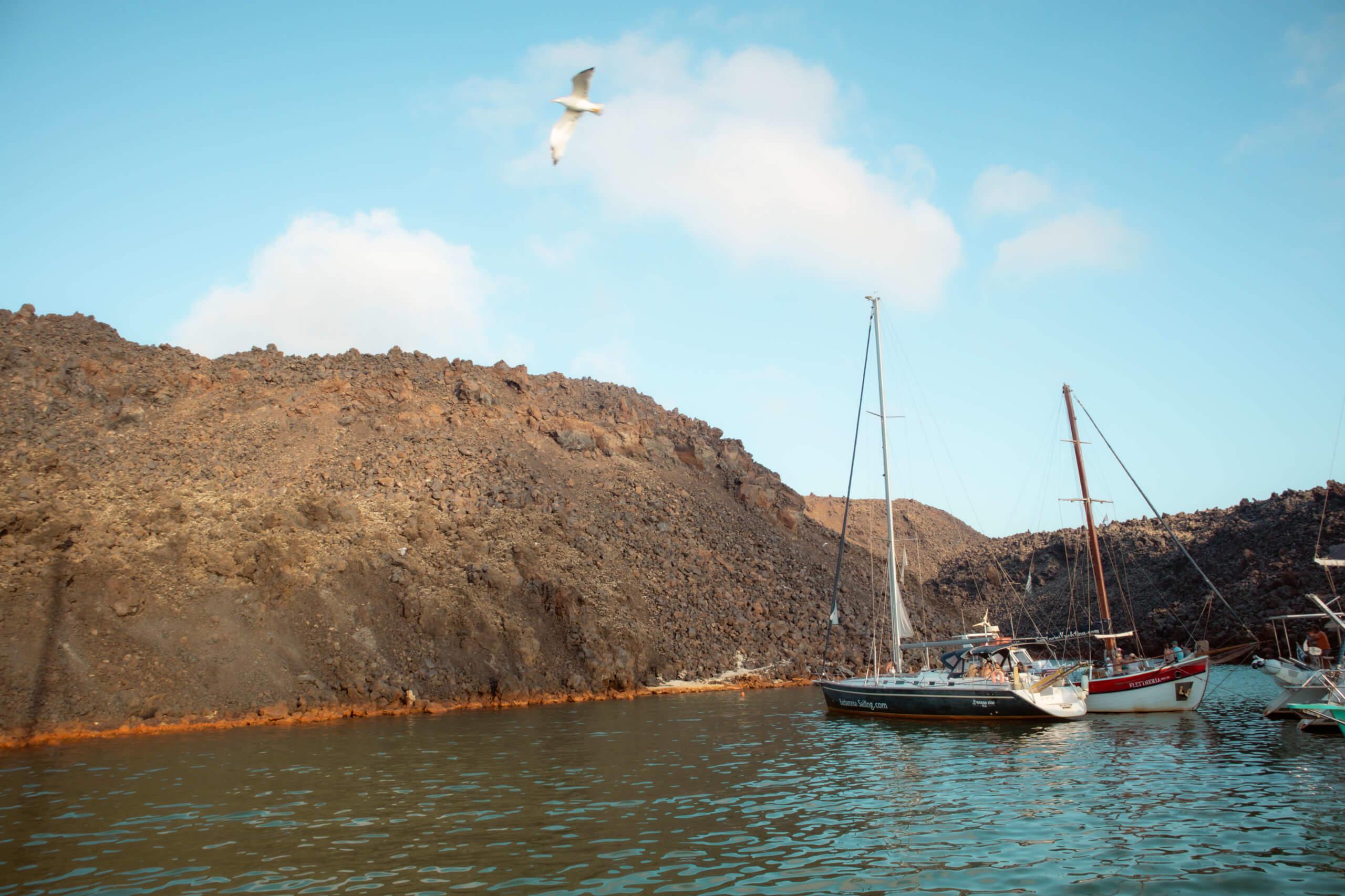 Santorini Catamaran Tour | Cruising with Sunset Oia | Hot Springs