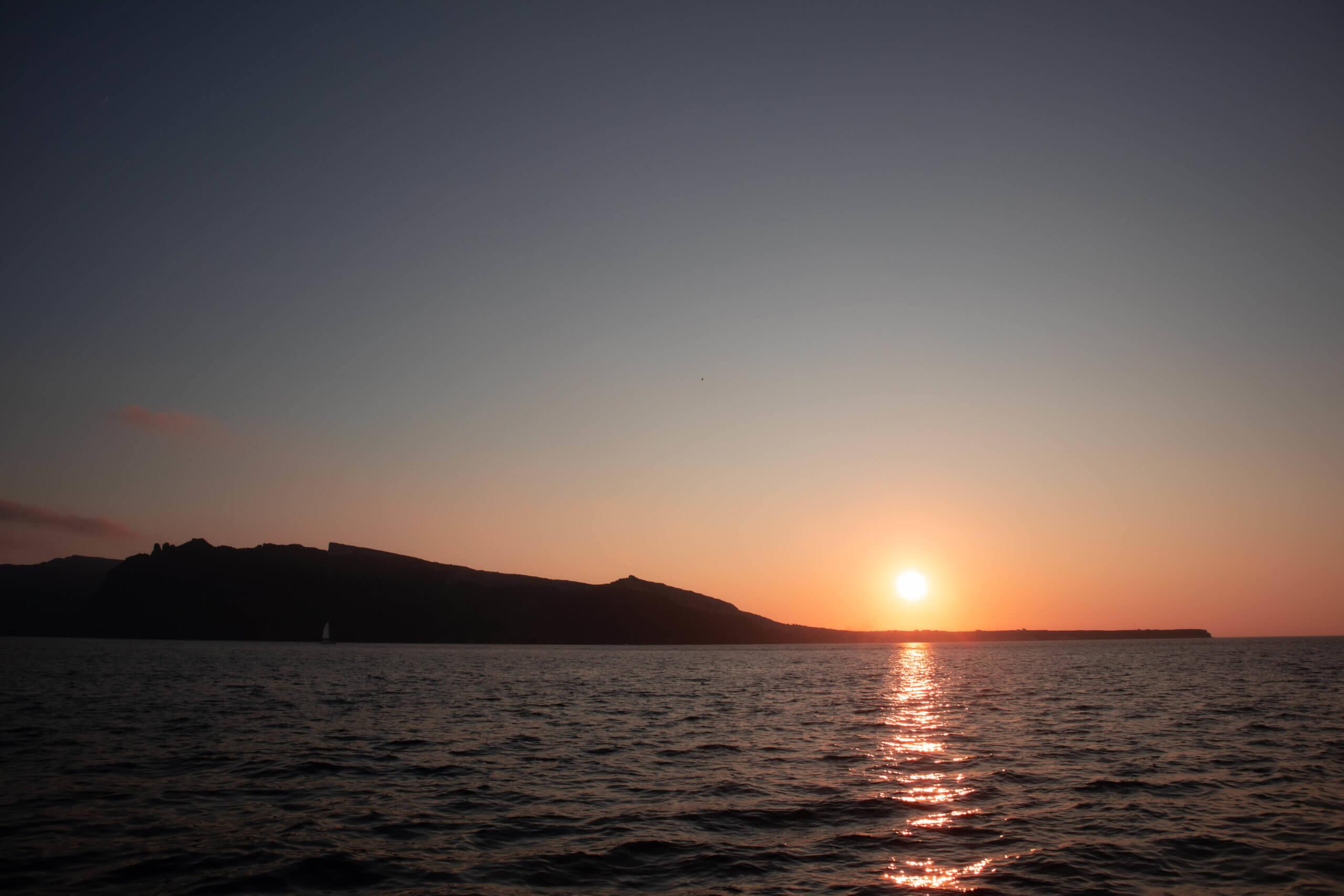 Santorini Catamaran Tour | Sunset