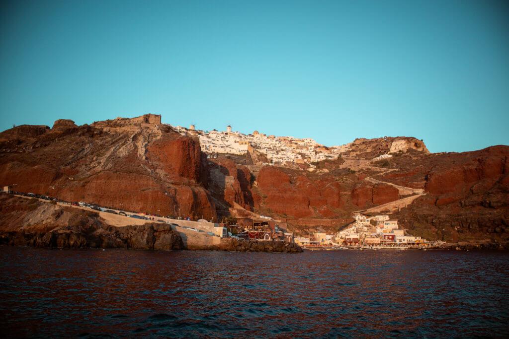 Santorini Top Amazing Experiences you shouldn't miss Ammoundi Bay
