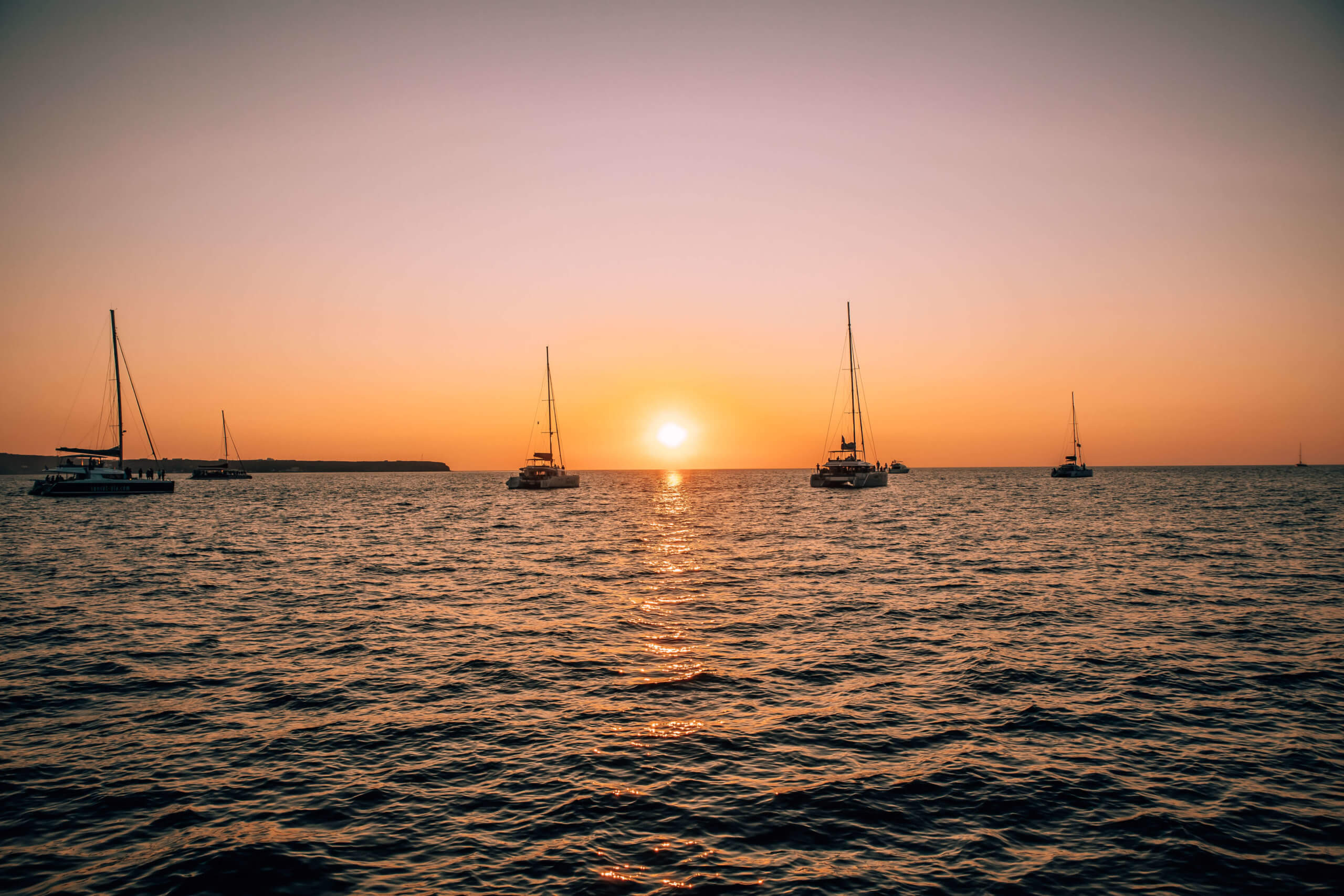 Sunset at Oia Santorini