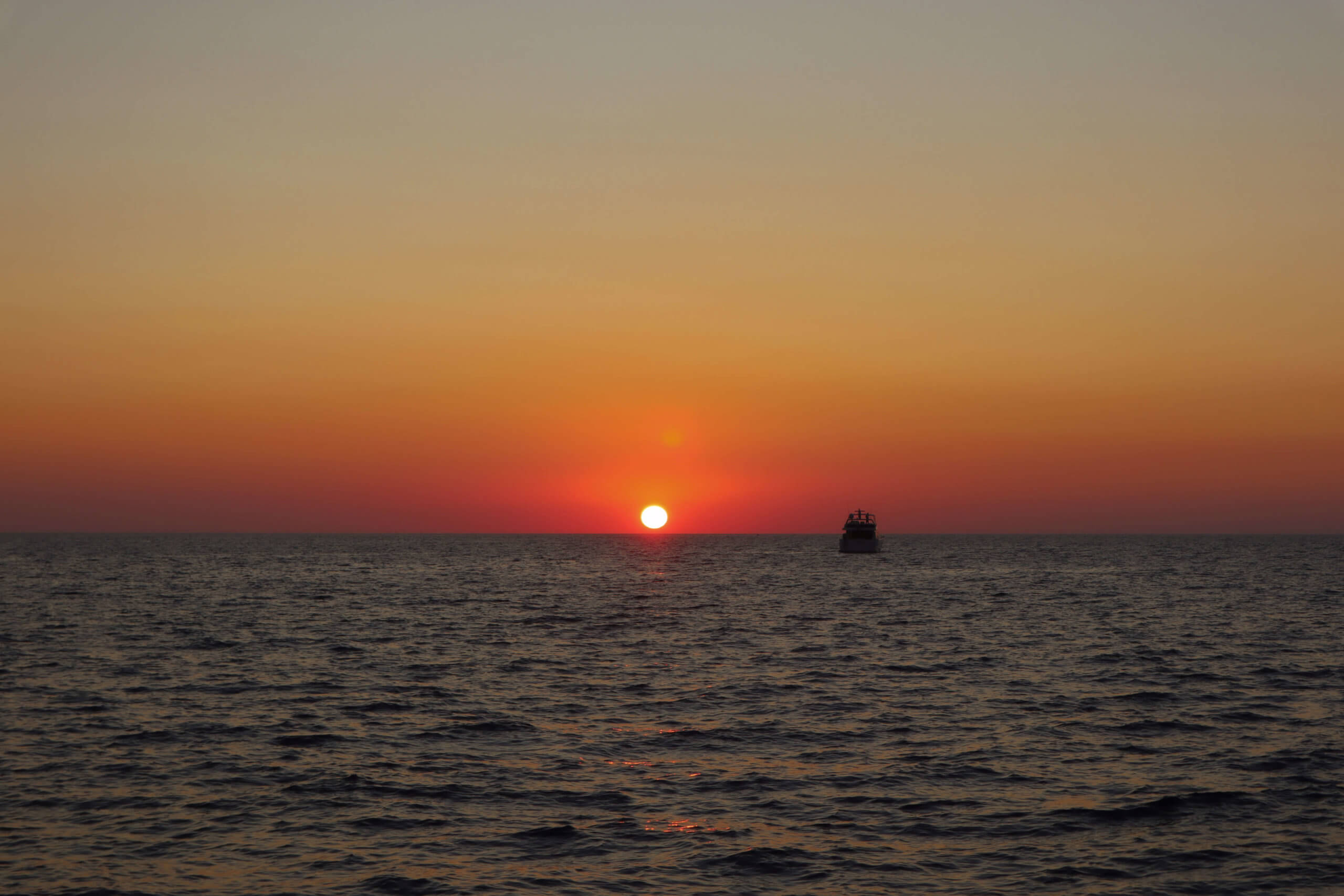 Santorini Catamaran Tour | Cruising with Sunset Oia | Sunset Oia