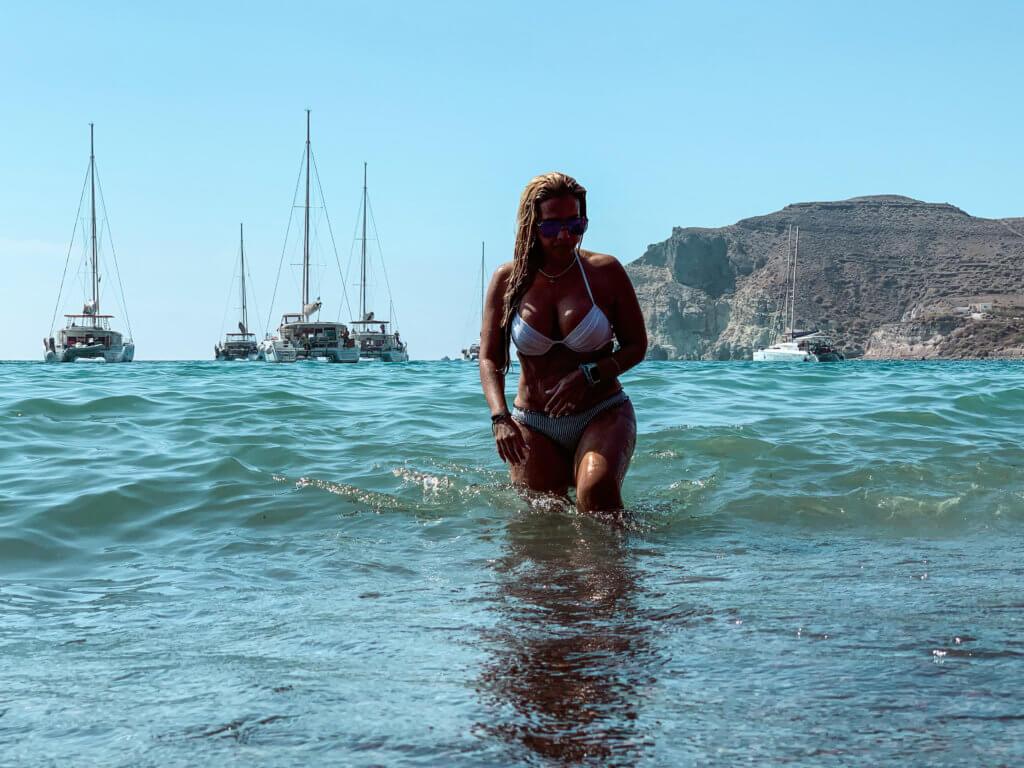 Santorini Top Amazing Experiences you shouldn't miss | Catamaran Tour