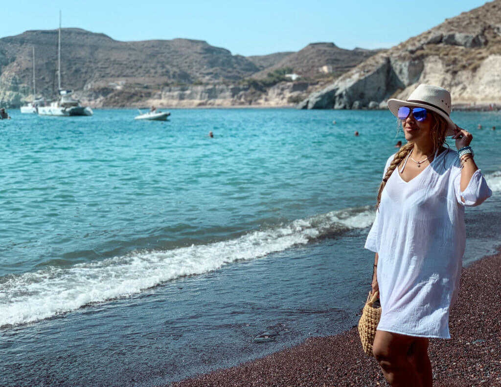Santorini Top Amazing Experiences you shouldn't miss | Red Beach