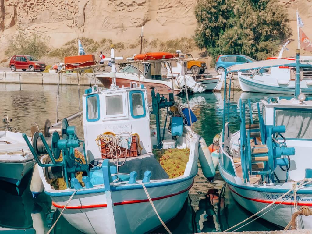 Santorini Catamaran Tour | Harbor Boats