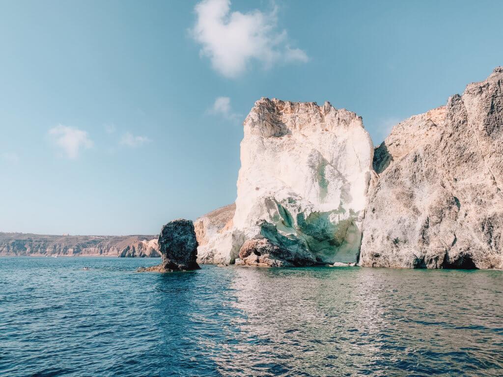 Santorini Catamaran Tour | Cruising with Sunset Oia | White Beach
