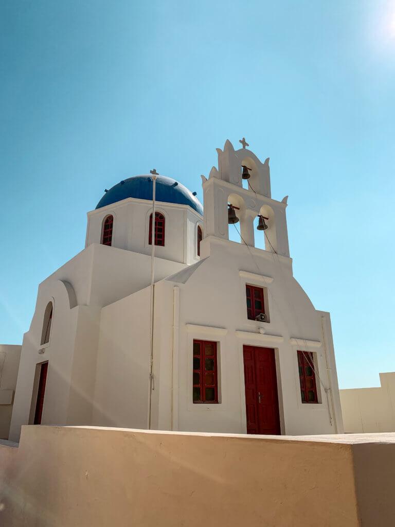 Santorini Top Amazing Experiences you shouldn't miss | Blue Dome Church