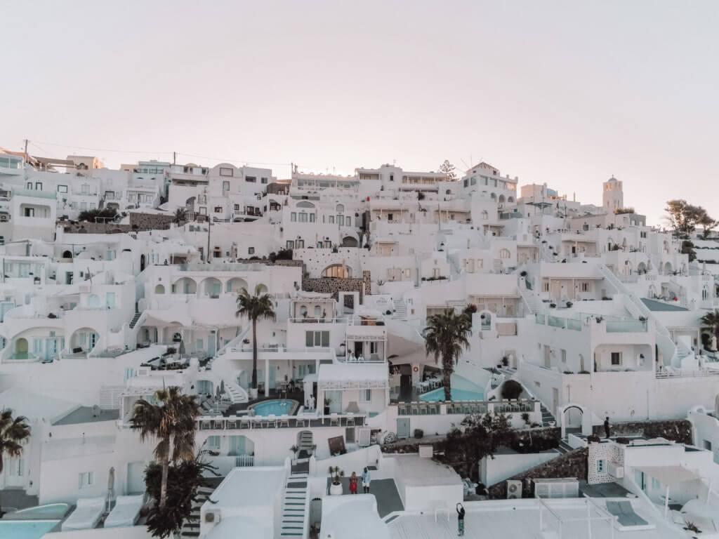Santorini Top Amazing Experiences you shouldn't miss | Santorini Drone View
