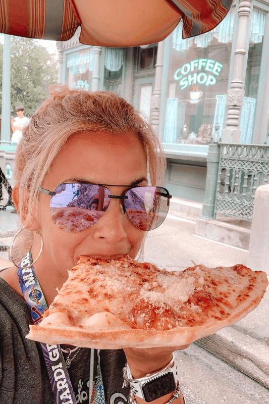 Louies Pizza at Universal Studios