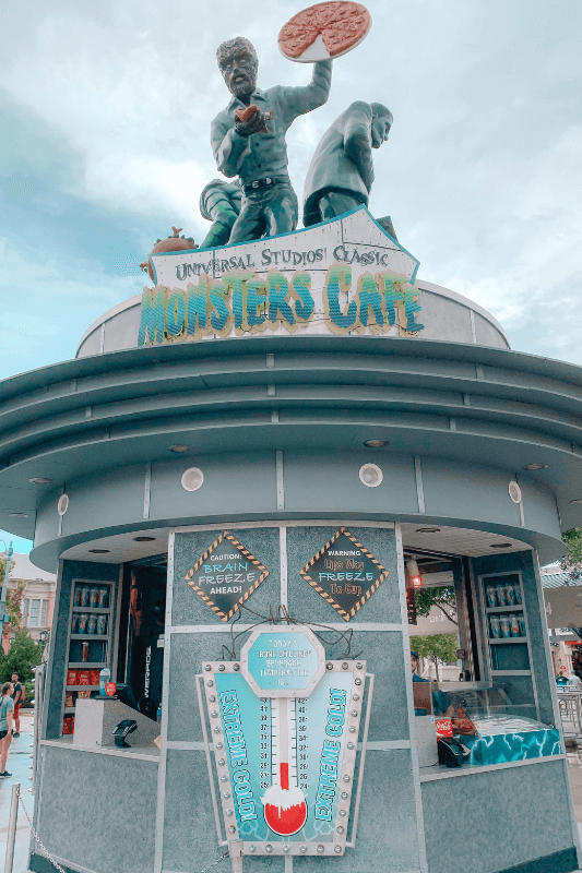 Monster Cafe at Universal Studios