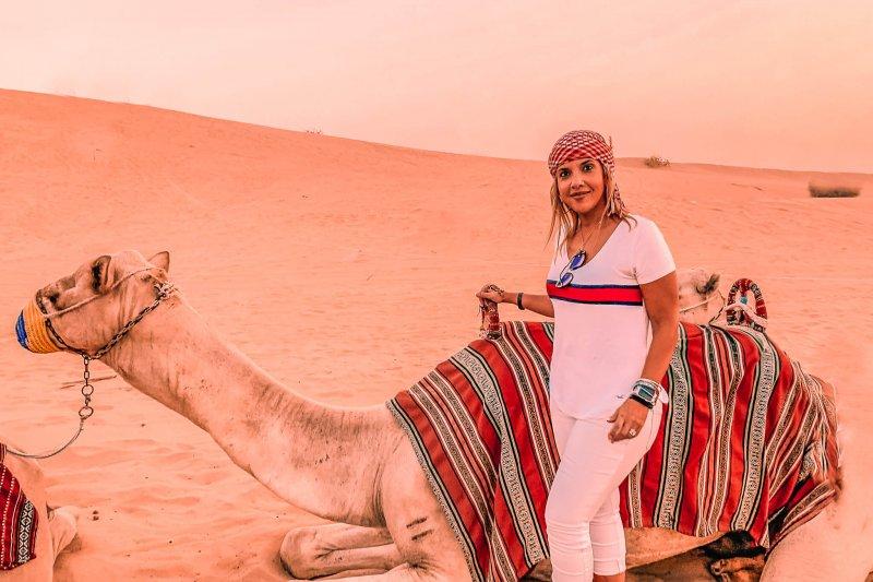 Desert Safari in Dubai | Camel
