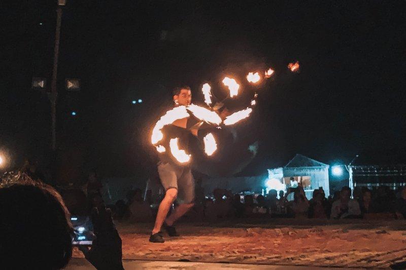 Desert Safari in Dubai | Fire Show