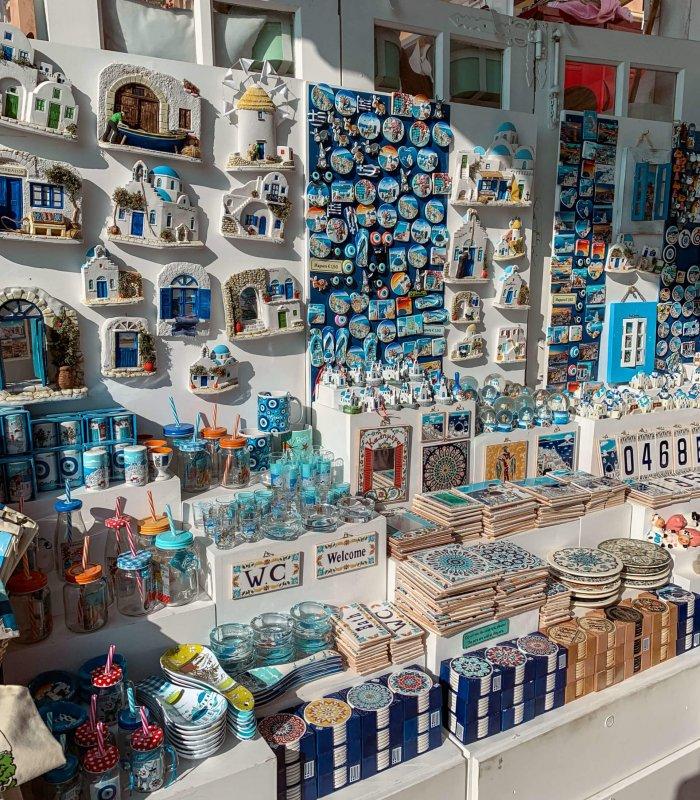 Santorini Top Amazing Experiences you shouldn't miss | Souvenirs