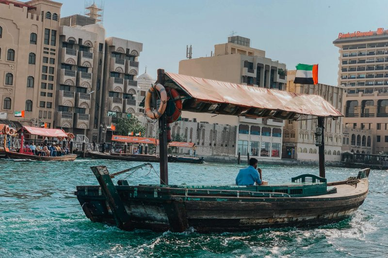 Dubai Gondola at Dubai Creek