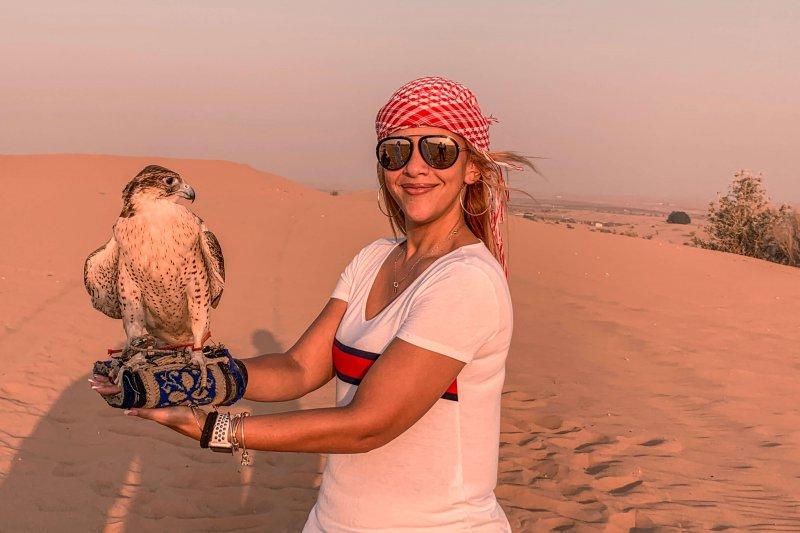 Desert Safari in Dubai | Falcon