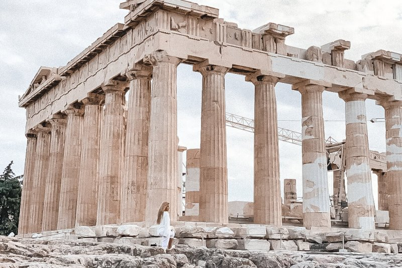 Fashionably Lena | Acropolis of Athens