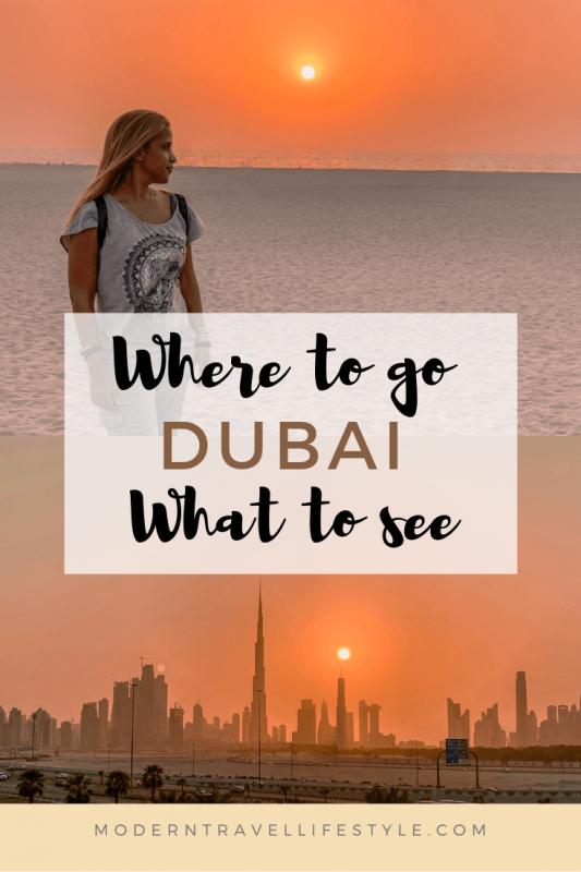 Desert Dubai - Dubai Skyline